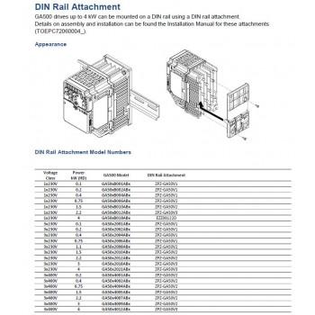 Kit Rail DIN GA500...
