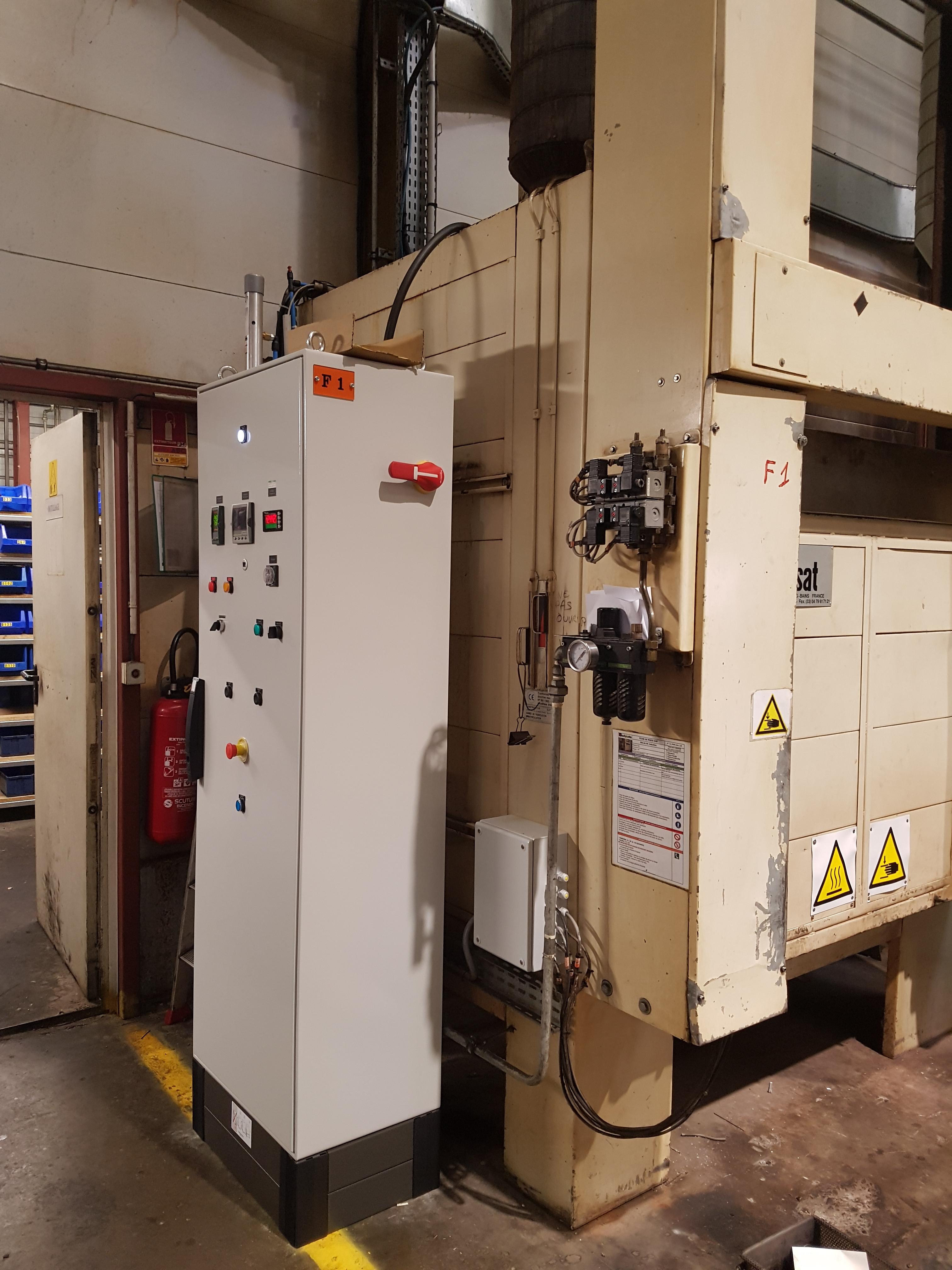 Retrofit machines industrielles